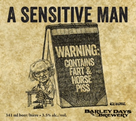 A Sensitive Man Label