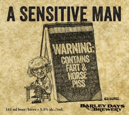 A Sensitive Man Label