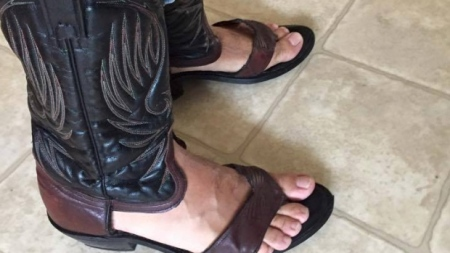 No real cowboy would be caught dead in these.